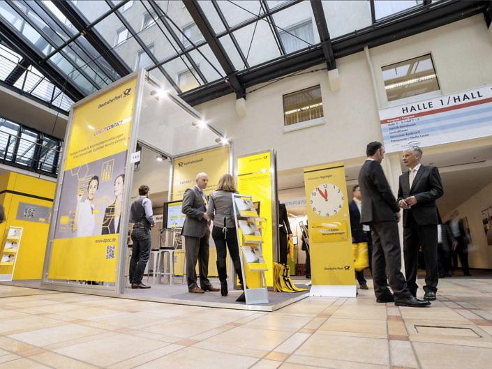 Messevideo für die Deutsche Post CSC