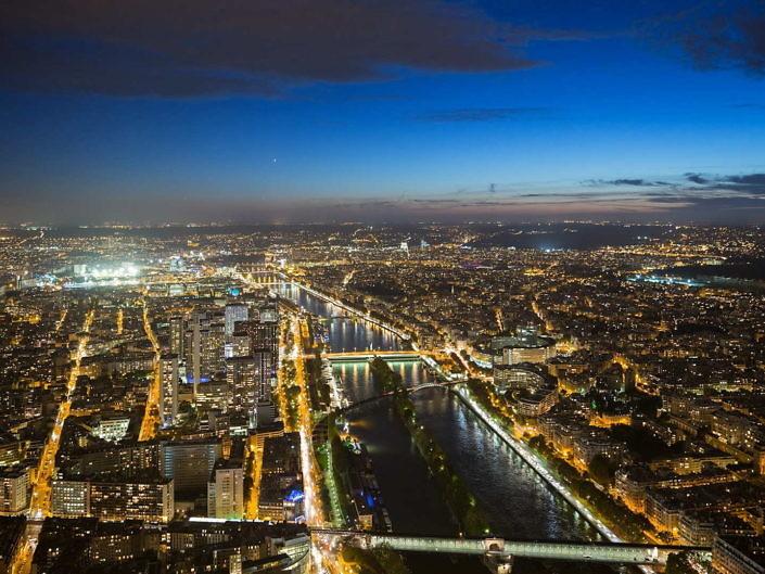 4k Footage und Timelapse Paris, Frankreich