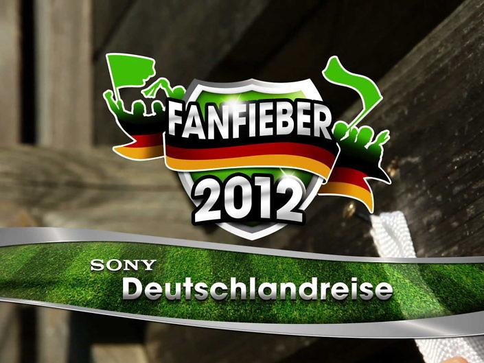 Grafikanimationen für Fanfieber von Sony Deutschland