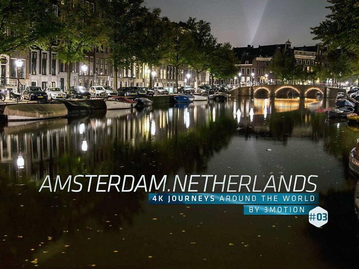 Footage von Amsterdam – Timelapse