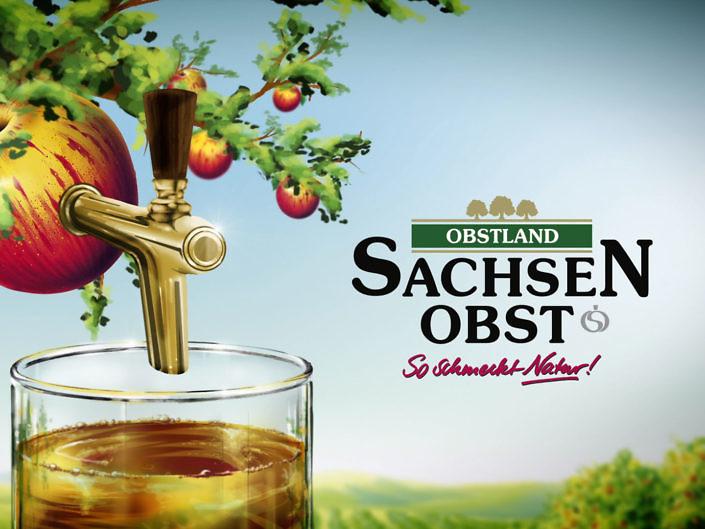 TV Sponsoring Sachsenobst für den Mitteldeutschen Rundfunk